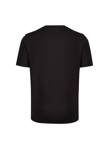 Skechers Skechers Erkek Siyah Bisiklet Yaka T-Shirt Siyah